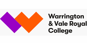 Warrington & Vale Royal College logo