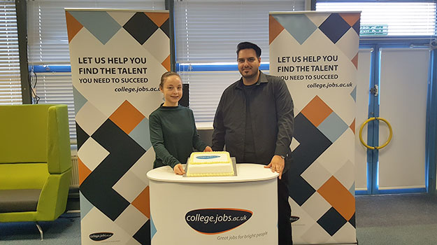 college.jobs.ac.uk Celebrates First Anniversary