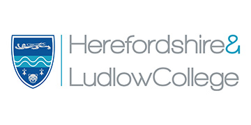 Herefordshire and Ludlow College logo